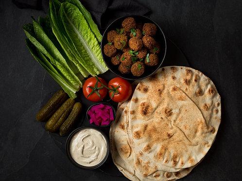 Meal Kit - Falafel Wraps