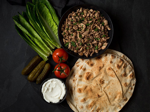 Meal Kit - Chicken Shawarma Wraps