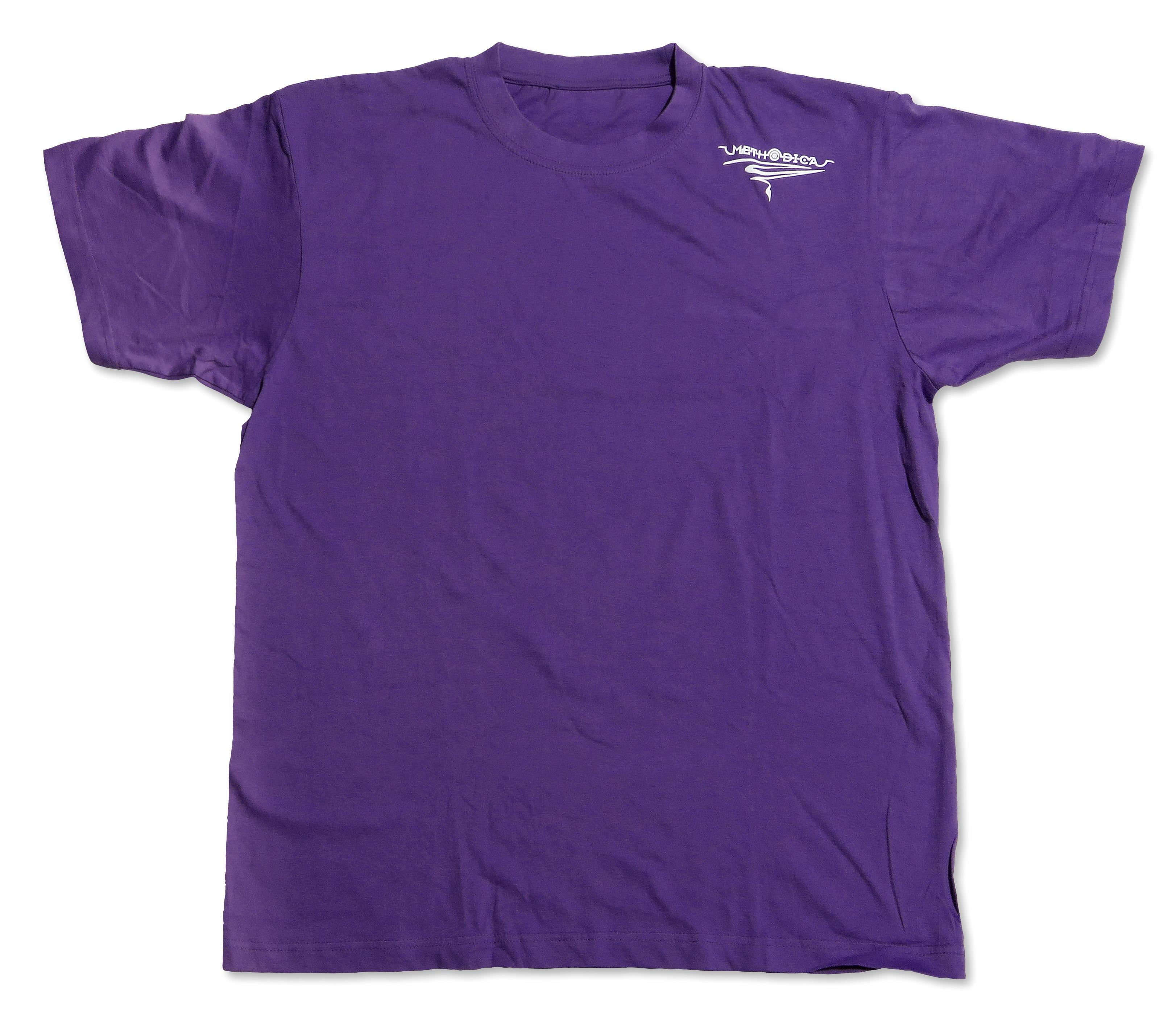 t-shirt SFR unisex violet (front) size S  M  L  XL