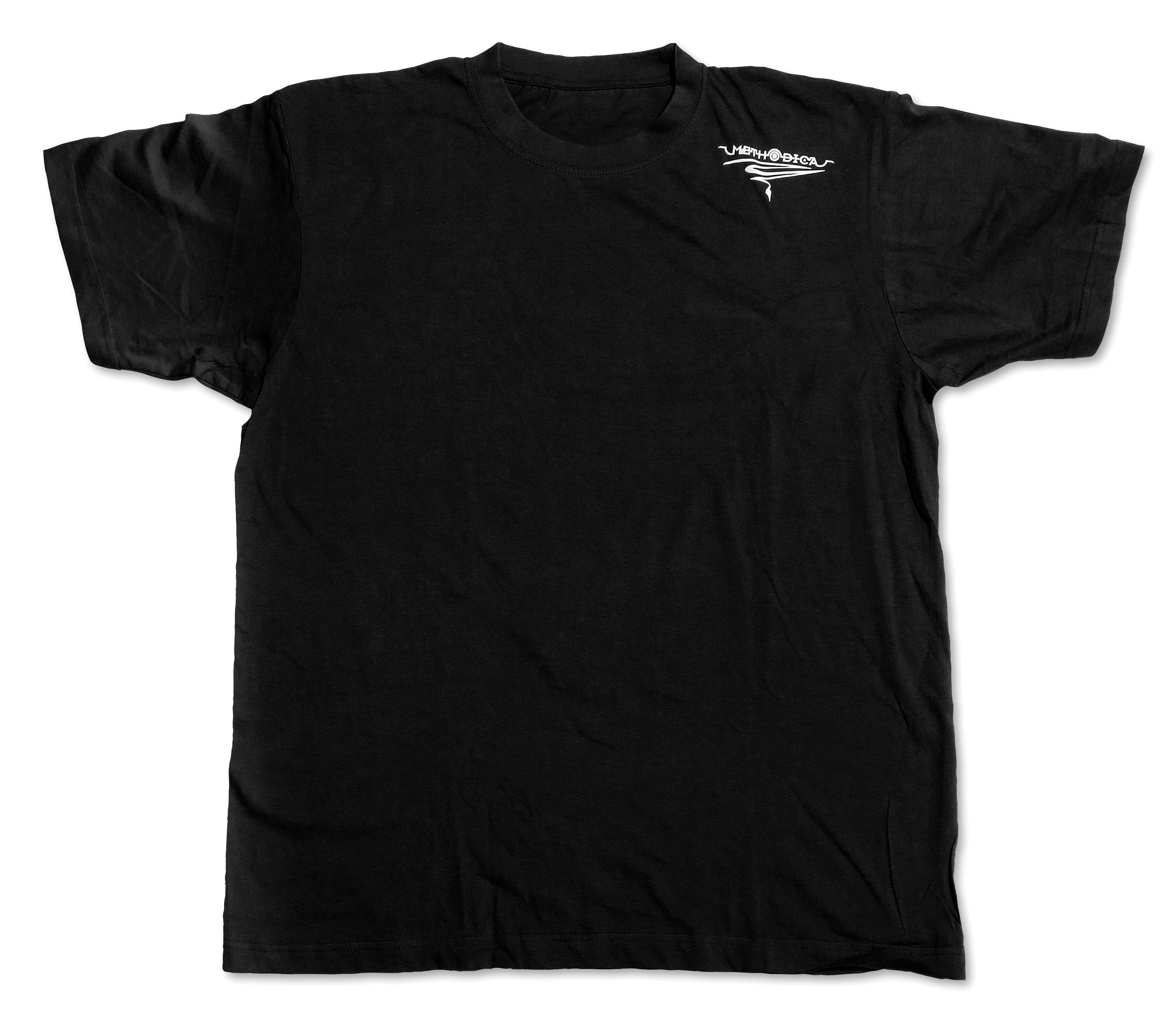 t-shirt SFR unisex black (front) size S  M  L  XL