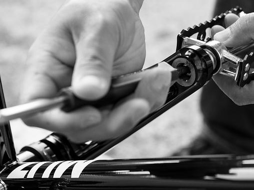 MUZ bikes premium workmanship