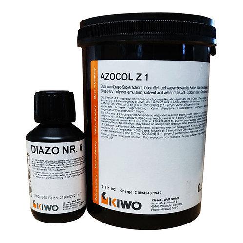 Kiwo Azocol Z1 Stencil Emulsion 900g