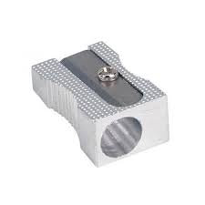 Single Metal Pencil Sharpener Pack of 24