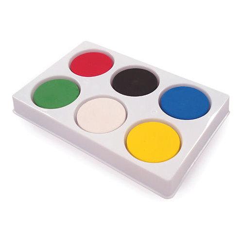 Tempera Blocks Set of 6 in Palette