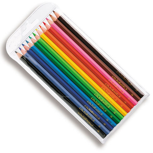 Colourworld Coloured Pencils Set of 12