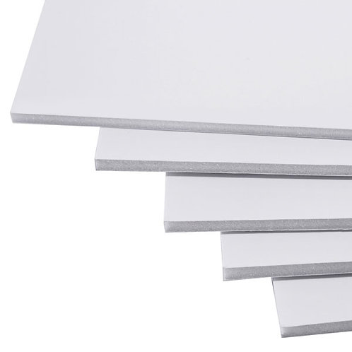 A1 White Foamboard 3mm Pack of 15 Sheets