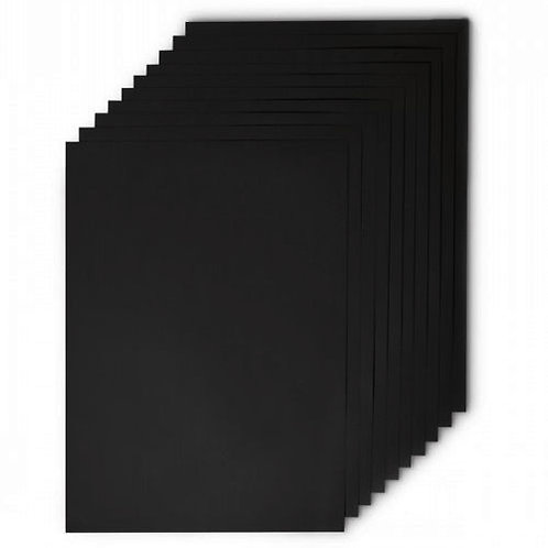 A3 Black Card 220gsm Pack of 30 Sheets