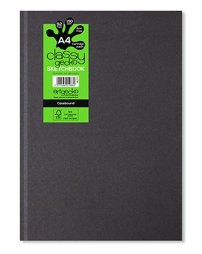 ArtGecko Classy Hardback Casebound Sketchbook