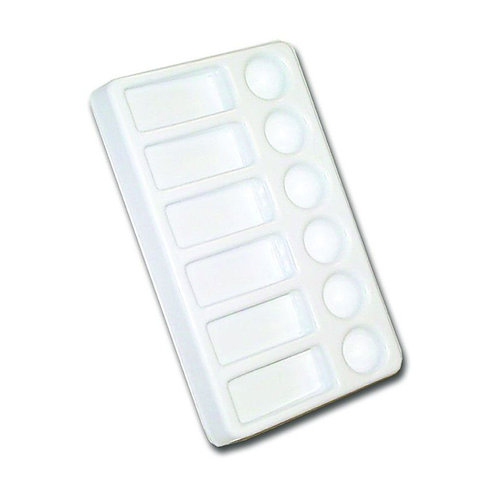 12 Well Mixing Plastic Palette