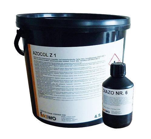 Kiwo Azocol Z1 Stencil Emulsion 4.5kg