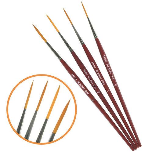 Rigger Detail Brushes Set of 4