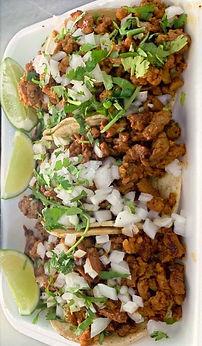 Pork and Chicken Street Tacos