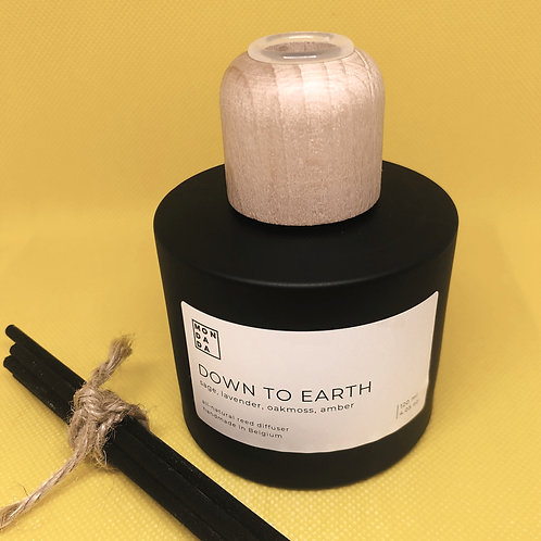 Black reed diffuser - Down to earth
