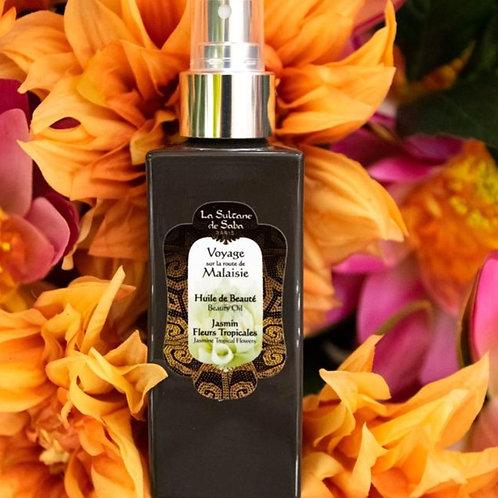 Body Olie - Tropische Bloemen uit Maleisië