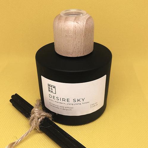 Black reed diffuser - Desire sky