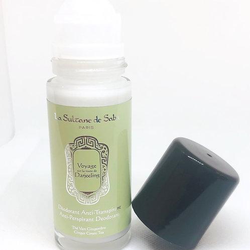 Deodorant anti-transparant - Groene thee en gember