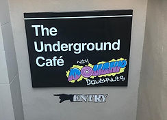 The Undergrud Cafe with DoughP Doughnuts