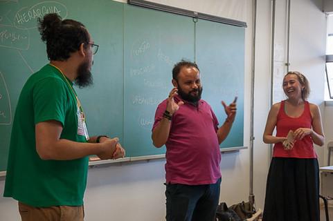 Oficina Cenas Públicas - Judson Cabral, Paulo Gircys e Thaís Póvoa