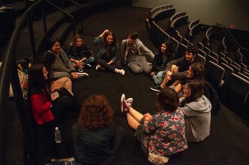 Roda de Conversa Filhos de Guerra - Apreciadoras Camila Shunyata e Nina Hotimsky