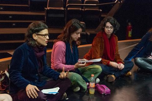 Roda de conversa Una - Apreciadoras Fernanda Azevedo e Talita Araújo