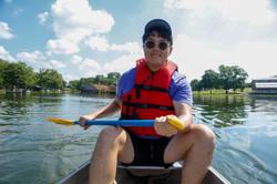 and paddle, paddle, paddle...