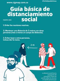 Guía básica de distanciamiento social