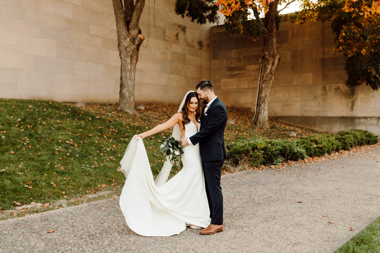 Modern and Minimal Everly Event Space Wedding