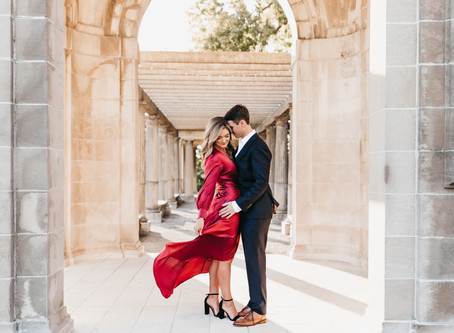 Glamorous Kansas City Engagement Session with Taylor and Aubrey