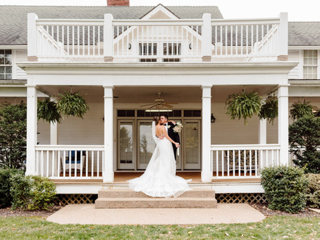 Matt and Stephanie's Elegant Outdoor Wedding at The Hawthorne House
