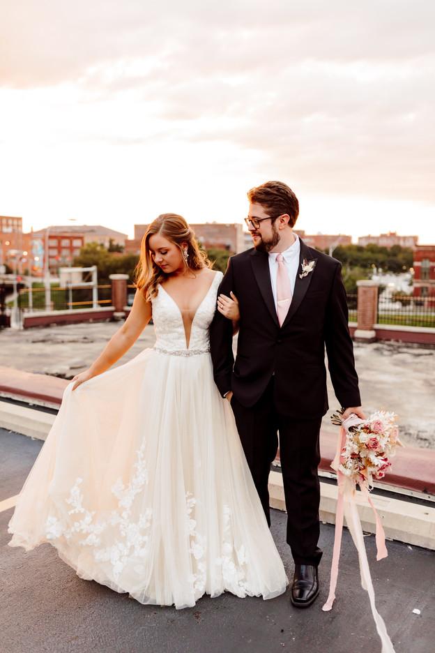 Romantic Summer Wedding at Magnolia Urban Garden