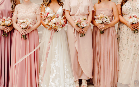 Kansas City Bride and Bridesmaids