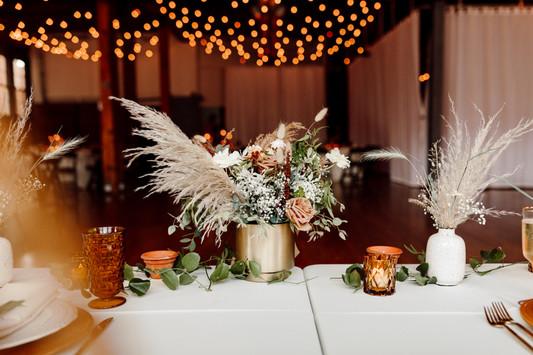 Boho Wedding Reception Decor