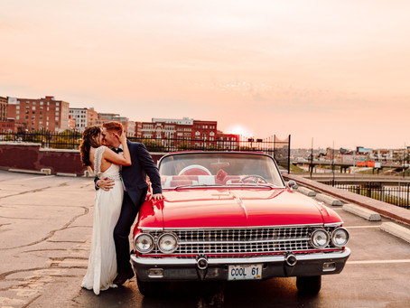 A Vintage and Elegant Kansas City Outdoor Wedding at Magnolia Venue & Urban Garden