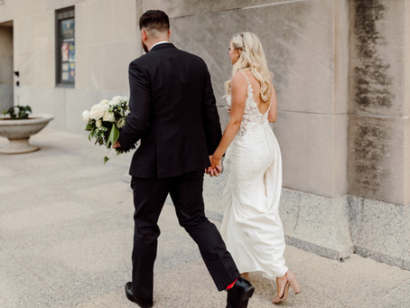 An Elegant Wedding at Union Station and Stifel Theater Downtown St. Louis