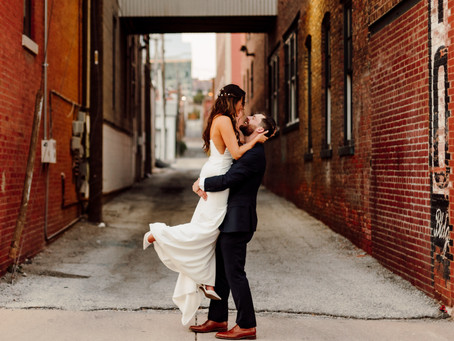 Rhett and Lacey's Modern and Minimal Wedding at The Everly Event Space in Kansas City