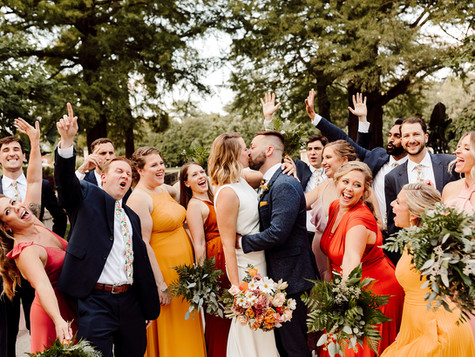 The Atkins Fell in Love - A Fall Inspired Wedding Day at the Wild Carrot in St. Louis