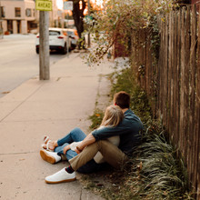 Downtown Kansas City Engagement Photography