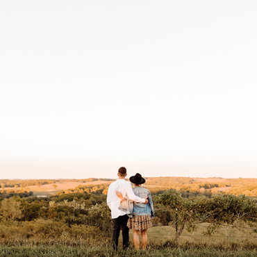 Weston Missouri Couples Photo Engagement Photography