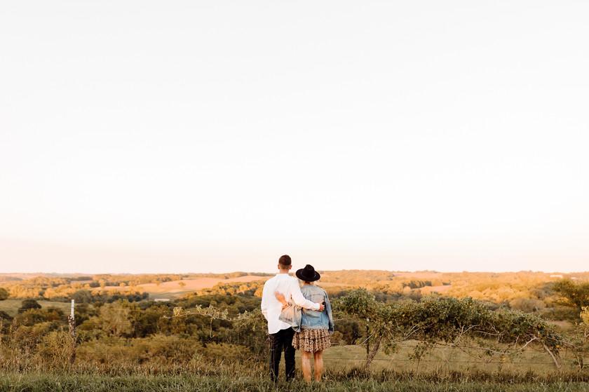 Weston Missouri Couples Photo Engagement Photography