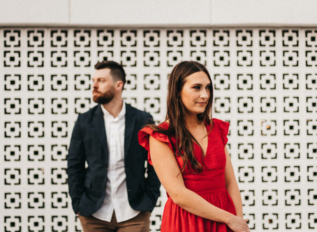 A Social Distancing Spring Engagement Session in Kansas City
