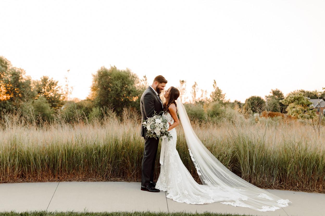 Intimate Backyard Kansas Summer Wedding