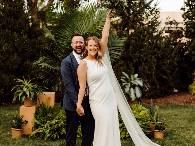 Micro Wedding at The Wild Carrot St. Louis