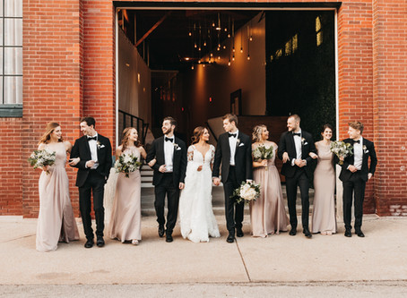 Winter Wedding in the Crossroads, Kansas City