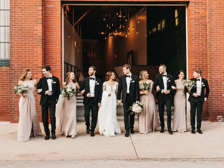 Winter Wedding in the Crossroads, Kansas City