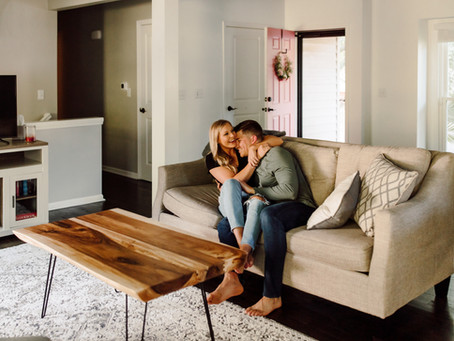 5 Reasons Why You Should Consider In-Home Photos for Your Engagement Session