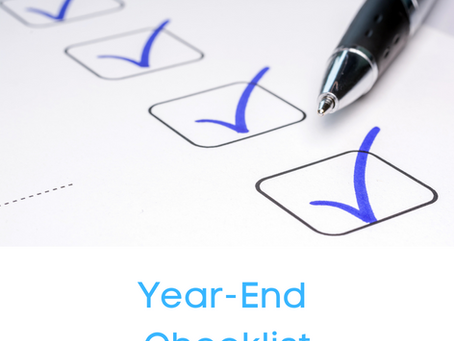 Year-End Checklist