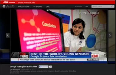 CNN: Google Hosts Giant Science Fair