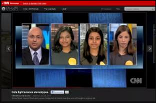CNN Bottom Line: Girls Fight Stereotypes