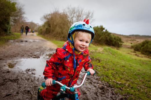 Muddy Bike Ride