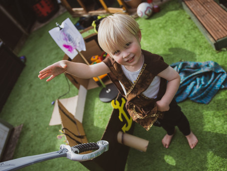 You, Me & Him: 101 things to do with a 3-year-old in lockdown! Week 8…